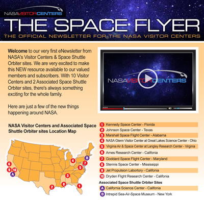Space Flyer newsletter