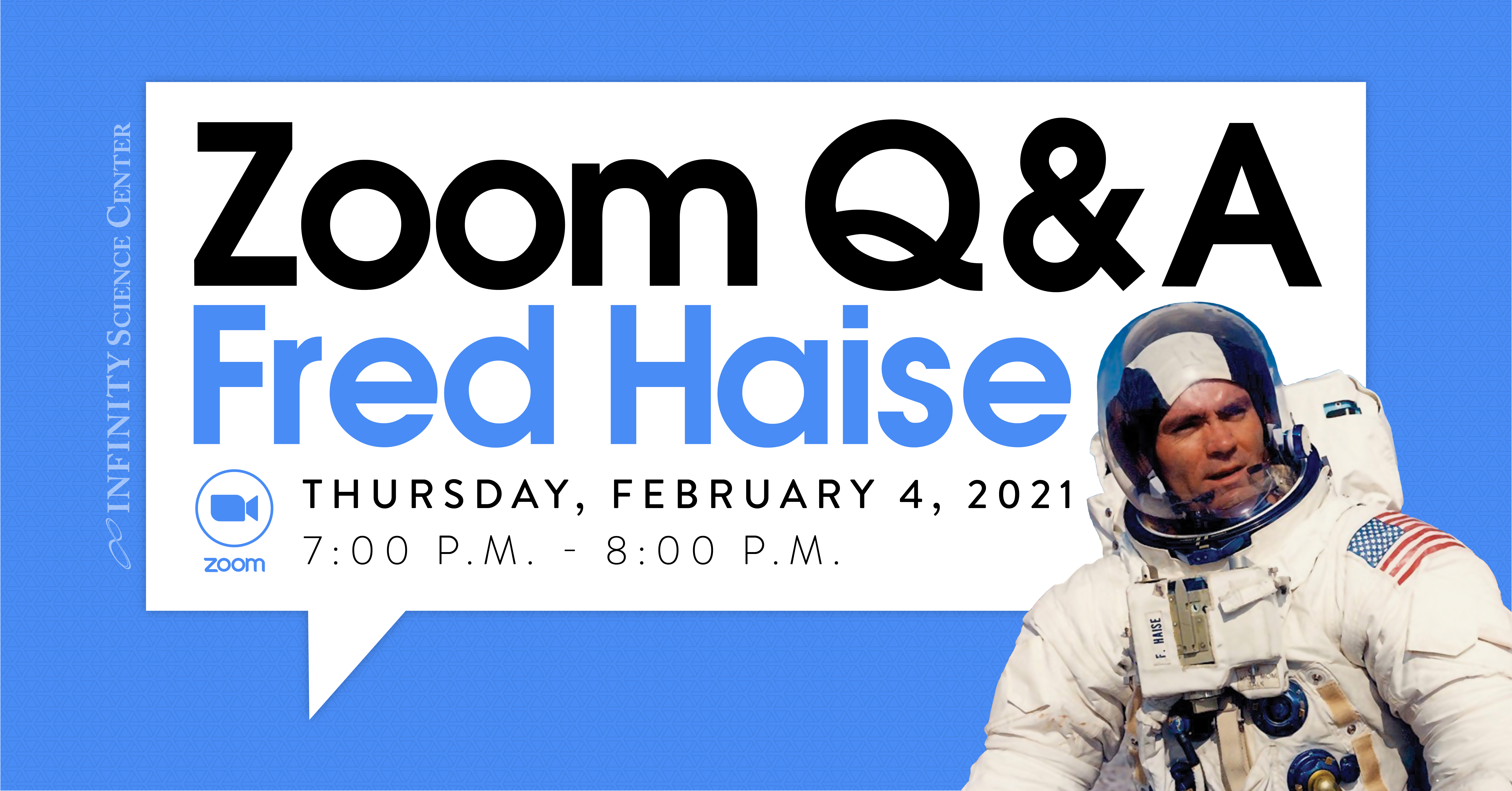 Zoom Q&A with Mr. Fred Haise